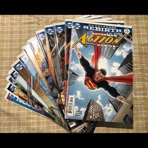 19 DC Universe Rebirth Superman Action Comics